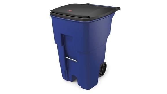 contenedor tacho de basura rubbermaid